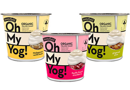 Stonyfield Farm Oh My Yog! Yogurt