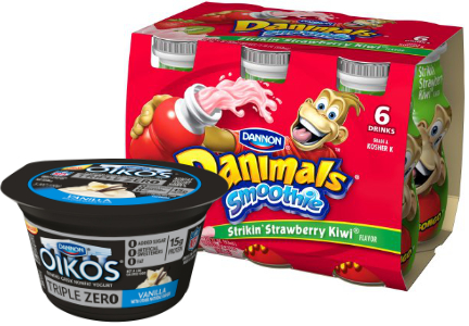 Oikos and Danimals, DanoneWave