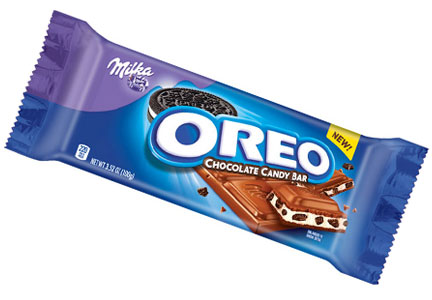 Oreo candy bar, Mondelez