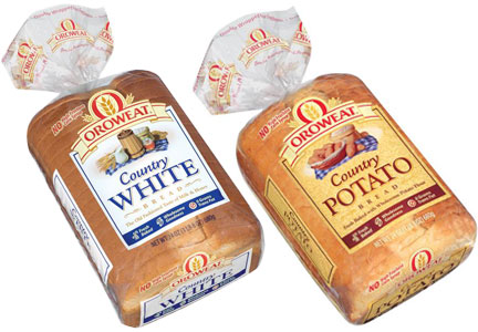 Oroweat Country bread