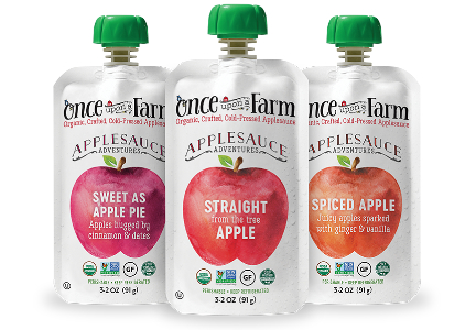 Once Upon a Farm applesauce