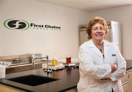 Pam Gribou, First Choice Ingredients