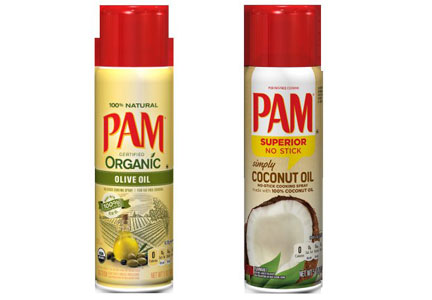PAM coconut and olive oils, ConAgra Foods