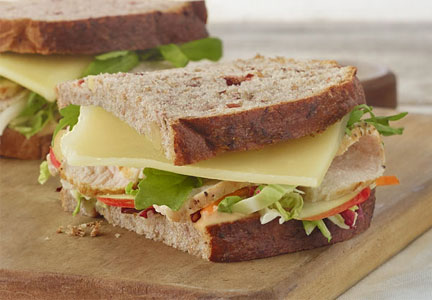 Panera turkey sandwich