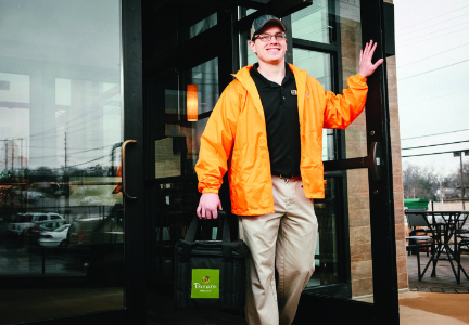Panera Delivery driver