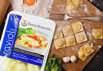 Romana food brands acquires pasta romana food business for Pasta romana