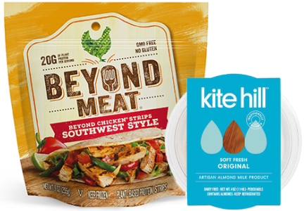 Plant-based protein: Beyond Meat, Kite Hill