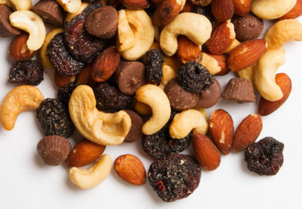 Peanut butter chocolate trail mix