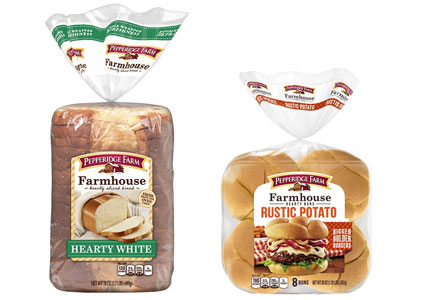 Pepperidge Farm premium bread and rolls, Campbell