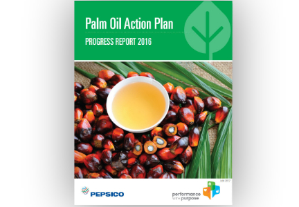 PepsiCo Palm Oil sustainability action plan