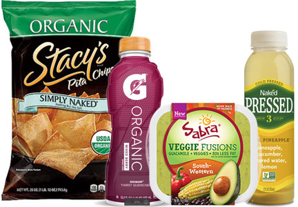 PepsiCo healthy new products
