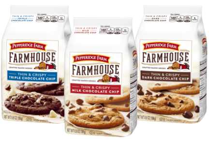 Pepperidge Farm Farmhouse Cookies, Pepperidge Farm, Campbell Soup