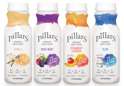 Pillars drinkable yogurt