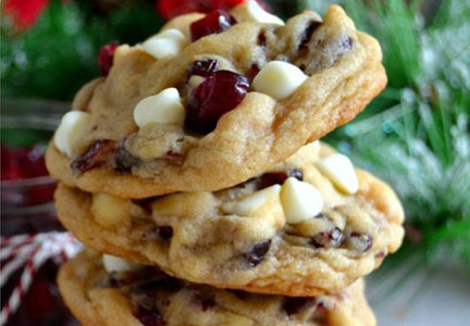 Pinterest cranberry cookies