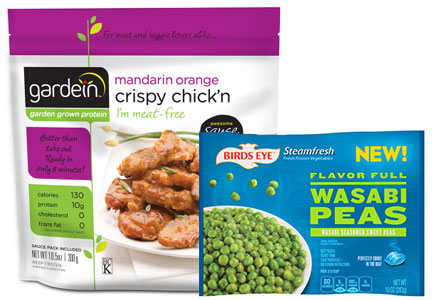 Gardein and Birds Eye products, Pinnacle Foods health and wellness