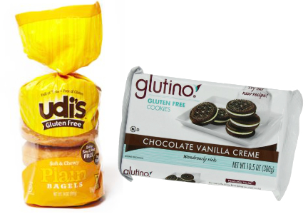 Pinnacle gluten-free brands: Glutino, Udi's
