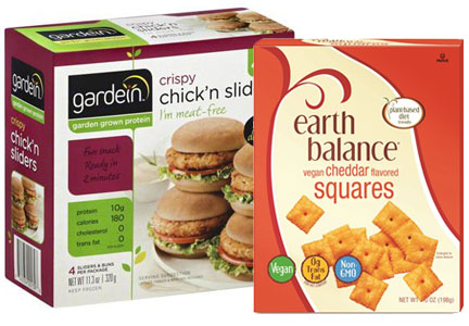 Pinnacle plant-based brands - Earth Balance and Gardein