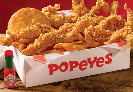 Popeyes Louisiana Kitchen Wicked Chicken