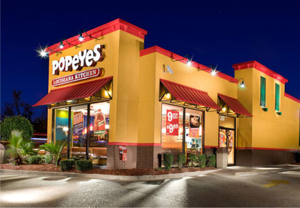 Popeyes Louisiana Kitchen restaurant