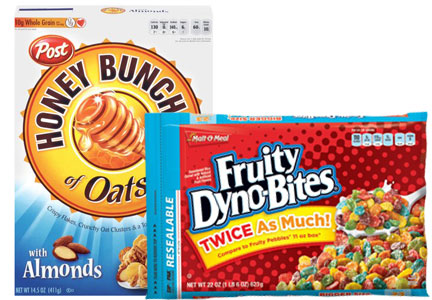 Post Consumer Brands and MOM Cereal