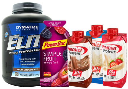 Post Active Nutrition - Dymatize, PowerBar, Premier Protein