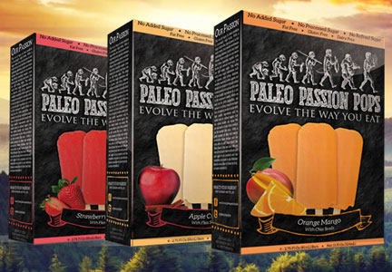Paleo Passion Foods ice pops