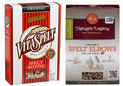 Purity Foods Nature's Legacy and VitaSpelt pasta