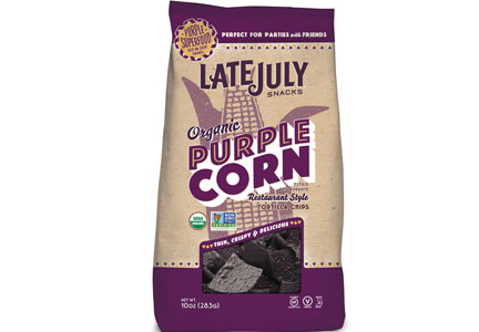 Late July organic purple corn tortilla chips