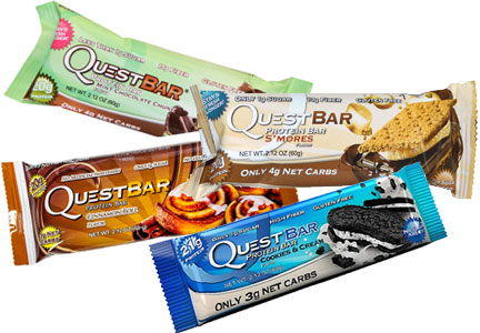 Quest nutrition bars