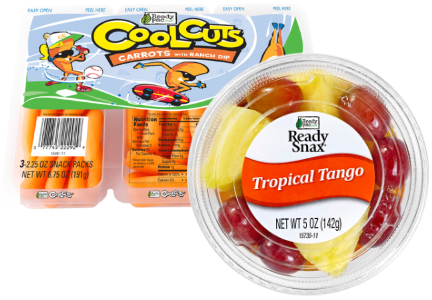 Ready Pac fruit and vegetable snack packs