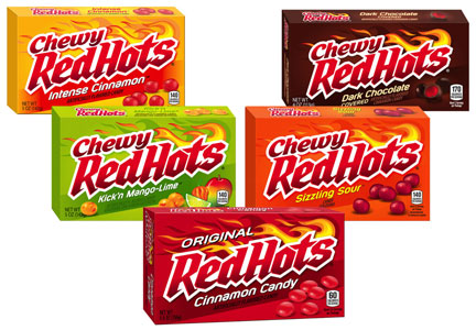 Red Hots Chewy candy revamped, Ferrara Candy Co.