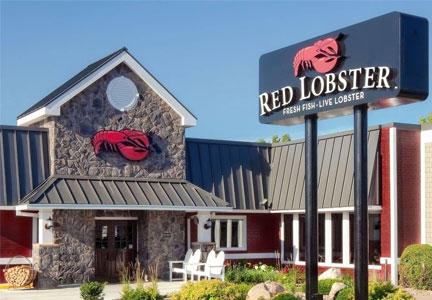 Red Lobster seafood restaurant