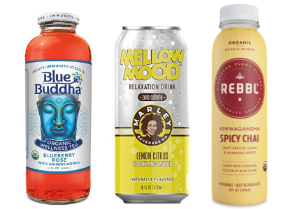 Ready-to-drink beverages for sleep and relaxation