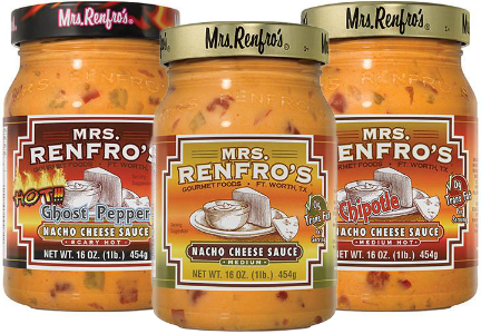 Mrs. Renfro's cheese sauces