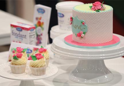 Fondant on cakes