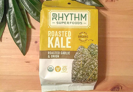 Rhythm Superfoods roasted kale, General Mills