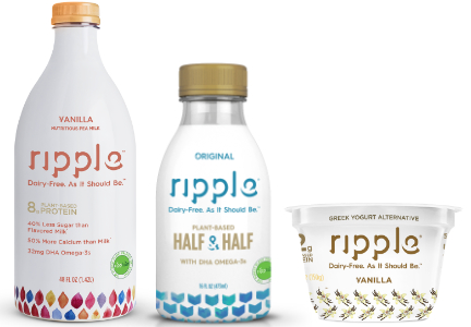 Ripple Foods pea milk