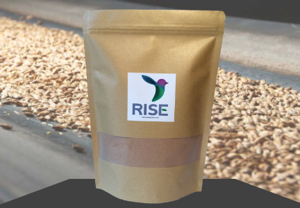 Rise flour, spent grains, Food-X