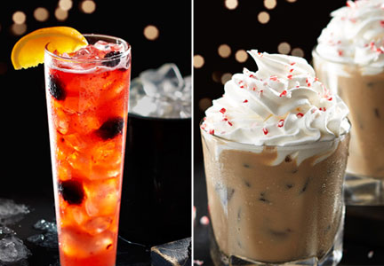 Red Lobster holiday cocktails