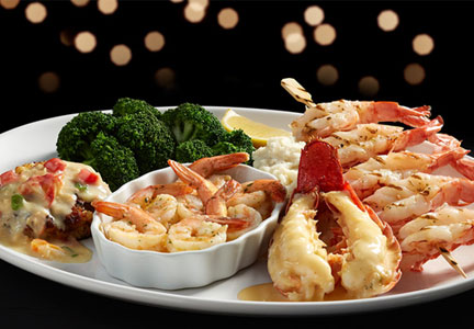 Red Lobster holiday seafood feast