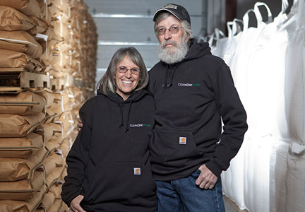 Rob Knowles and Meryl Stern, CleanDirt Farm