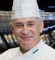Ronald DeSantis, certified master chef and director of culinary excellence and quality assurance for Yale Dining