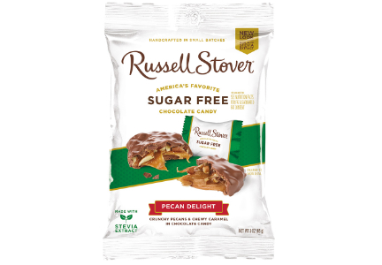 Russell Stover Sugar Free chocolate, Pecan Delight