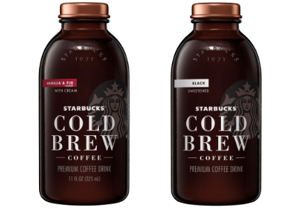 Starbucks cold brew bottled