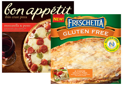 Schwan Food Co. pizzas - Freschetta, bon apeptit, cage-free eggs