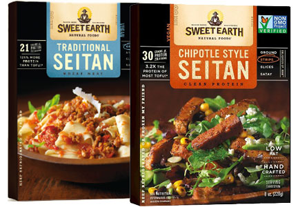 Sweet Earth Natural Foods seitan