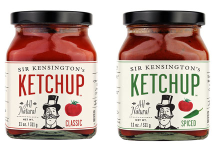 Sir Kensington's ketchup varieties