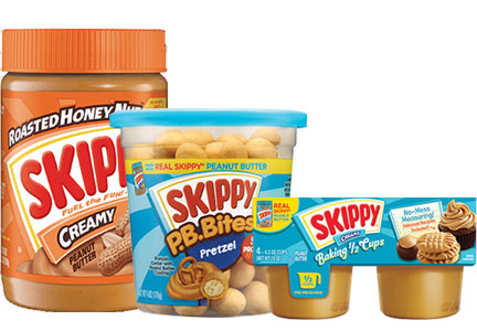 Skippy peanut butter products, Hormel