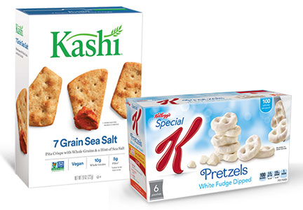 Special K and Kashi snacks, Kellogg