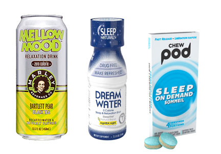 Products for sleep and relaxation